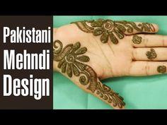 8 Amazing Pakistani Mehndi Designs