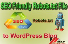 In this tutorial I Focus on how to add seo Friendly Robots.txt file in WordPress Blog, many blogger make mistake in blogging because they are make poor seo