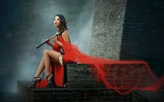 Nice Female Art Design Photography HD Wallpaper