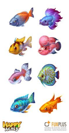 HA-fish Fish Cartoon Drawing, Cartoon Fish, Fish Drawings, Cartoon Drawings, Animal Sketches, Animal Drawings, Drawn Fish, Fish Icon, Fish Graphic
