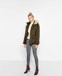 Winter parka Zara