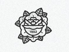 June 20 1902 by Half & Half Popular Tattoo Style, Illustration Vector, Emblem, Badge Design, Tatoo Art, Grafik Design, Identity Design, Traditional Tattoo, Graphic Design Inspiration