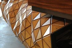 WoodSkin aims to bridge the gap between virtual design and real construction Custom Woodworking, Fine Woodworking, Woodworking Projects, Flexible Plywood, Plywood Panels, Wood Surface, Office Interior Design, New Room, Magazine Design