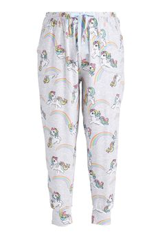 Image for P. Plus My Little Pony Rainbows Easy Pj Pant from Peter Alexander Pretty Outfits, Pretty Clothes, Plus Size Sleepwear, Pj Pants, Pajamas Women, Clothing Items, My Wardrobe, Night Gown, Plus Size Women