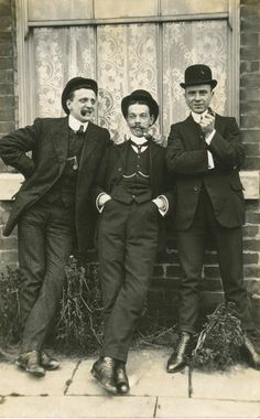 A Trio of Edwardian Swells
