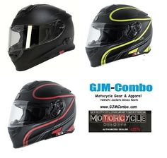 15de5a5d Torc T28B T28 Bluetooth or no BT Modular Dual Visor Motorcycle Helmet or  Shields #TORC
