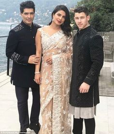 Sept, Here's Why Priyanka Chopra Is 'Having A Good Time' Planning Her Wedding To Nick Jonas. Priyanka and Nick's wedding will reportedly be an amalgamation of Indian traditions and an American wedding rituals. Rent Dresses, Unique Prom Dresses, Bollywood Celebrities, Bollywood Fashion, Bollywood Stars, Priyanka Chopra Wedding, Glamour World, Bollywood Wedding, Nick Jonas