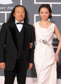 KITARO - 52nd Annual GRAMMY Awards - Arrivals