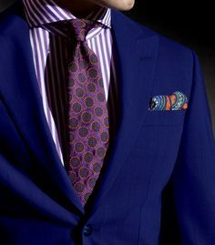 Phineas Cole S/S by Janny Dangerous Pocket Square Rules, Tie And Pocket Square, Pocket Squares, Sharp Dressed Man, Well Dressed Men, Looks Cool, Men Looks, Pliage Pochette Costume, Suit And Tie