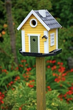 Turn Popsicles into an Adorable Bird House | Summer DIYs and ... on easy birdhouse designs, wood designs, painted birdhouses designs, vans designs, rustic birdhouse designs, bird feeder designs, cool birdhouse designs, bird birdhouse patterns, pottery designs, bird box designs, bird cage designs, greenhouse designs, modern birdhouse designs, bird home designs, unique birdhouse designs, butterfly designs, bird houses to build, bird design patterns, bird redwork embroidery designs, cat designs,
