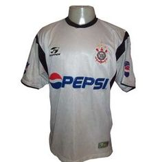 Camisa do Corinthians de 2002 - Camisa I (Branca)