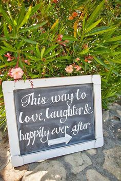 18 Clever & Funny Wedding Signs For Your Reception ❤ See more: http://www.weddingforward.com/clever-funny-wedding-signs/ #weddings #decorations