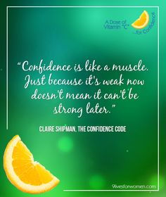 Work+Life #VitaminC #quotes for #Confidence from 9 Lives for Women