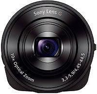 Sony Cyber-shot DSC-QX10 Black Smartphone Attachable Compact Lens Style Camera