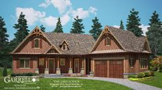 The Lake Lodge House Plan 09114 by Garrell Associates, Inc. 1-877-215-1455. Design by Michael William Garrell. http://garrellassociates.com/floorplans/lake-lodge-cottage-house-plan
