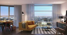 Living Area- dont really like the furniture but that view is amazing
