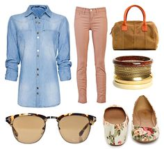 Style board featuring coral J Brand Skinny Jeans  on COUTUREcolorado LIFE & STYLE
