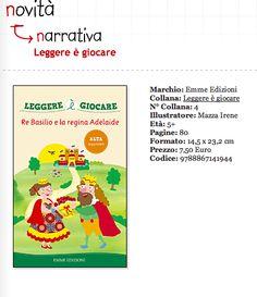 Libro illustrato di lettura e giochi per bambini tratto da una fiaba popolare  by irene mazza