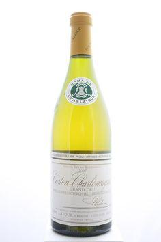 Louis Latour (Domaine) Corton-Charlemagne 2007. France, Burgundy, Aloxe Corton, Grand Cru. 6 Bottles á 0,75l. Estimate (11/2016): 325 USD (54,17 USD (1.319 CZK) / Bottle).