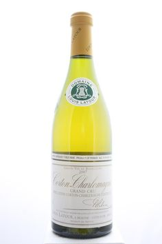 Louis Latour (Domaine) Corton-Charlemagne 2007. France, Burgundy, Aloxe Corton, Grand Cru. 6 Bottles á 0,75l. Estimate (11/2016): 325 USD (54,17 USD (1.319 CZK) / Bottle).