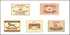 The World Of Matchboxes, Matchbooks & Matchbox Labels - My Collection: South Africa - Matchbox Labels