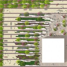 Technology Business District DESIGNED WITH NATURE Arquitetura paisagista, Planeamento urbano Landscape design valencia, landscaping busin. Landscape And Urbanism, Landscape Architecture Design, Landscape Plans, Urban Landscape, Architecture Photo, Landscape Architects, Architecture Interiors, Architecture Drawings, Classical Architecture