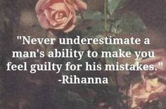 Never underestimate a man's ability