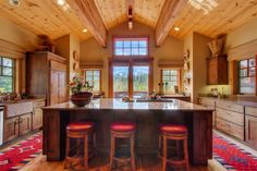 """One of the nicest homes available in Squaw Valley! Nicknamed the """"KT Lodge"""" due to its expansive mountain views of KT22, Red Dog and Painted Rock. 83 Winding Creek Road, Olympic Valley CA. 3,394 SF 