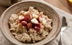 Apple Pie Oatmeal from the Cooking Light Diet
