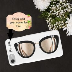 Chanel Fashion Phone Case Chanel Sunglasses by ChezLorraines