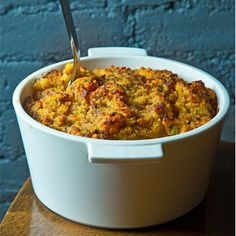 For a Southern twang on the standard stuffing, Arkansas native Robert Newton of Brooklyn's beloved Seersucker and Nightingale 9 restaurants shared his family's recipe for Cornbread Dressing with Sage and Black Pepper. Read more!