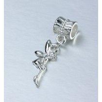 Berloque Banhado Em Prata De Lei Tinker Bell Sininho Disney #MargoBonita #Berloque #Charm #Pingente #Disney