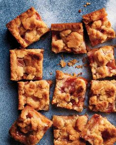 Peach Pie Bars on Pinterest | Peach Cobbler Bars, Peach Crumble Bars ...
