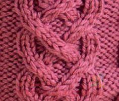 узор косы Knitting, Fashion, Moda, Tricot, Fashion Styles, Stricken, Knitwear, Crocheting, Fashion Illustrations