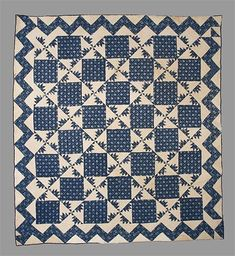 Delectable Mountains quilt North American, 1865