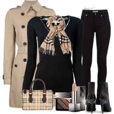 Burberry Work, created by tayswift-1d on Polyvore