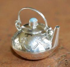 native american tea pot