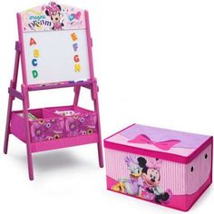 Disney Minnie Mouse Activity Easel Indianhomedecor