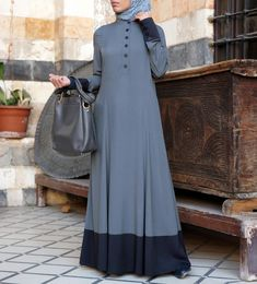 Elegance becomes everyday with this gorgeous full-length abaya. This abaya is made for daytime, nighttime, weekends, the workplace...in fact, we can't think of any occasion that this isn't perfect for! Get your very own Zaada Abaya today! Free shipping today on all orders over $100 (£75 / €80).