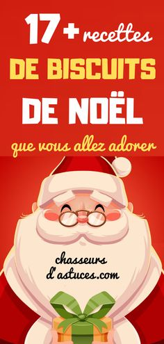 17+ RECETTES DE BISCUITS DE NOËL QUE VOUS ALLEZ ADORER. Xmas Food, Christmas Cooking, Christmas Dinner 2018, Junk Food, Sweet Recipes, Food And Drink, Sweets, Snacks, Cake