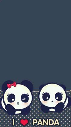 Panda Wallpaper Iphone, Cute Panda Wallpaper, Panda Wallpapers, Bear Wallpaper, Cute Cartoon Wallpapers, Cool Panda, Panda Love, Panda Background, Panda Nursery