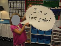 """cute idea for student pictures-what if there was a photo """"booth"""" for meet the teacher night"""