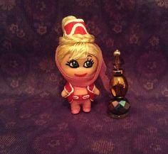OOAK Liddle Kiddle Jewelry Size  I Dream of JEANIE  tiny doll Miniature Blonde