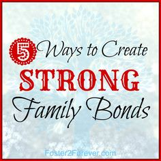 Check out these ideas for family bonding activities! #family