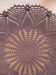 Gothic Lace Doily by Elizabeth Ann White | Flickr - Photo Sharing!