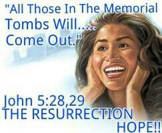Do you want to witness the resurrection? Then study the Bible and gain knowledge. John 17:3. then you will gain faith. Faith in turn leads to a turning around, and changing our bad ways. Now you are on the road to Life.