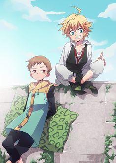 King & Meliodas | Nanatsu no Taizai