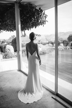 Alexandra Grecco - Maia Slip Gown - Real Bride Molly