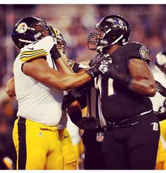Things get intense!! #Rivalry  Let's Go! Thanksgiving Night match up! Ravens vs Steelers 22-20 photo credit @Raven Searcy Instagram #Ravens Nation