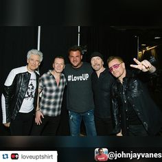 Via @loveuptshirt #u2 #u2ietour #bono#adamclayton #theedge #larrymullenjr  Repost: @johnjayvanes The greatest night of my life!!!! #U2 #LOVEUP